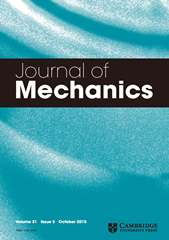 Journal of Mechanics Volume 31 - Issue 5 -