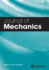 Journal of Mechanics Volume 32 - Issue 4 -
