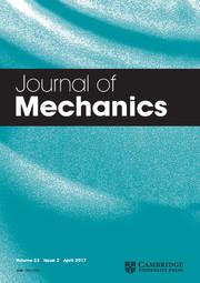 Journal of Mechanics Volume 33 - Issue 2 -