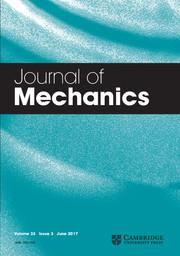 Journal of Mechanics Volume 33 - Issue 3 -