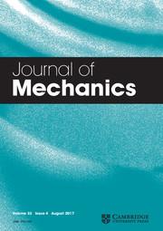 Journal of Mechanics Volume 33 - Issue 4 -