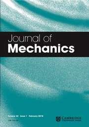 Journal of Mechanics Volume 34 - Issue 1 -
