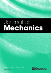 Journal of Mechanics Volume 35 - Issue 1 -