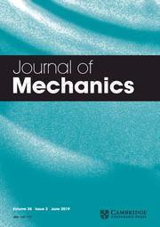 Journal of Mechanics Volume 35 - Issue 3 -