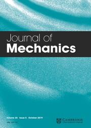 Journal of Mechanics Volume 35 - Issue 5 -