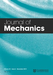 Journal of Mechanics Volume 35 - Issue 6 -