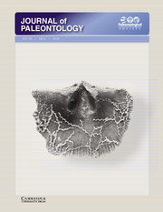 Journal of Paleontology Volume 90 - Issue 3 -