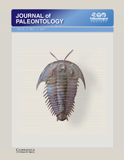 Journal of Paleontology Volume 91 - Issue 1 -