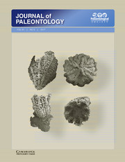Journal of Paleontology Volume 91 - Issue 5 -