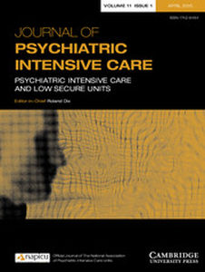Journal of Psychiatric Intensive Care Volume 11 - Issue 1 -