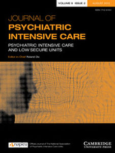 Journal of Psychiatric Intensive Care Volume 9 - Issue 2 -