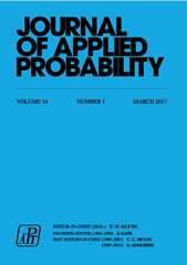 Journal of Applied Probability Volume 54 - Issue 1 -