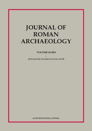 Journal of Roman Archaeology Volume 26 - Issue  -