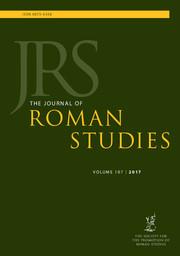 The Journal of Roman Studies Volume 107 - Issue  -