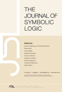 The Journal of Symbolic Logic Volume 79 - Issue 3 -