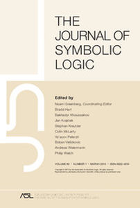 The Journal of Symbolic Logic Volume 80 - Issue 1 -