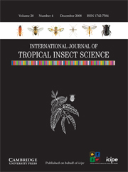 International Journal of Tropical Insect Science Volume 28 - Issue 4 -
