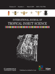 International Journal of Tropical Insect Science Volume 29 - Issue 1 -
