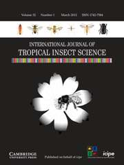 International Journal of Tropical Insect Science Volume 32 - Issue 1 -