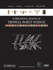 International Journal of Tropical Insect Science Volume 33 - Issue 4 -