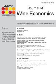 Journal of Wine Economics Volume 10 - Issue 3 -
