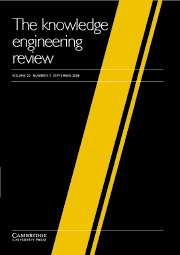 The Knowledge Engineering Review Volume 20 - Issue 3 -