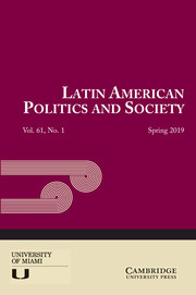Latin American Politics and Society Volume 61 - Issue 1 -