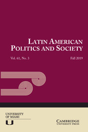Latin American Politics and Society Volume 61 - Issue 3 -