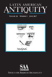 Latin American Antiquity Volume 28 - Issue 2 -