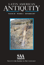 Latin American Antiquity Volume 28 - Issue 3 -