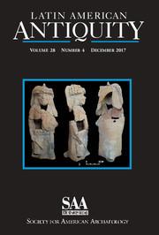 Latin American Antiquity Volume 28 - Issue 4 -