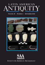Latin American Antiquity Volume 29 - Issue 3 -