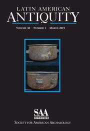 Latin American Antiquity Volume 30 - Issue 1 -