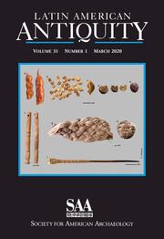 Latin American Antiquity Volume 31 - Issue 1 -