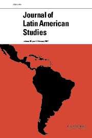 Journal of Latin American Studies Volume 39 - Issue 1 -