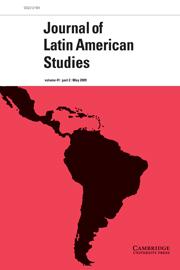 Journal of Latin American Studies Volume 41 - Issue 2 -