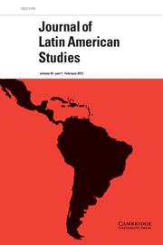 Journal of Latin American Studies Volume 44 - Issue 1 -