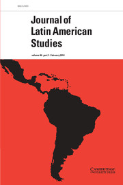 Journal of Latin American Studies Volume 46 - Issue 1 -