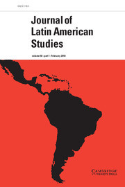Journal of Latin American Studies Volume 50 - Issue 1 -
