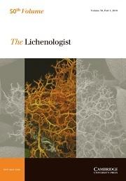 The Lichenologist Volume 50 - Issue 1 -
