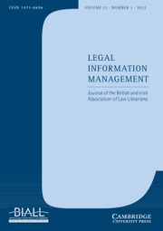 Legal Information Management