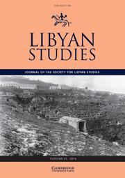 Libyan Studies Volume 45 - Issue  -