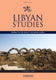 Libyan Studies Volume 47 - Issue  -