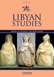 Libyan Studies Volume 48 - Issue  -