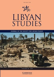 Libyan Studies Volume 50 - Issue  -