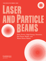 Laser and Particle Beams Volume 28 - Issue 1 -