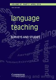 Language Teaching Volume 47 - Issue 2 -