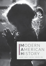 Modern American History Volume 1 - Issue 2 -