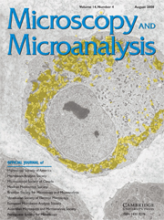 Microscopy and Microanalysis Volume 14 - Issue 4 -