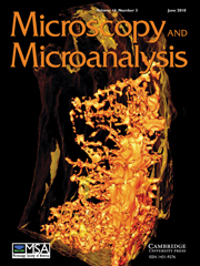 Microscopy and Microanalysis Volume 16 - Issue 3 -